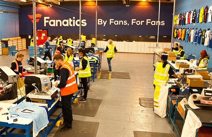 Fanatics Intl